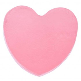 heart soap with rose flavour